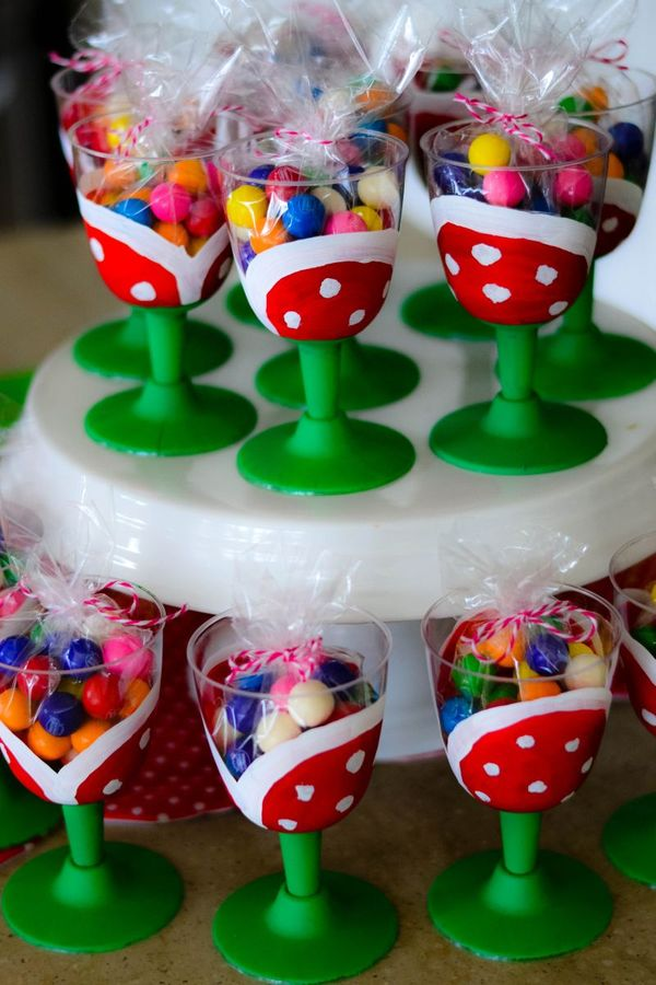 It S The Life Super Mario Birthday Cake Table